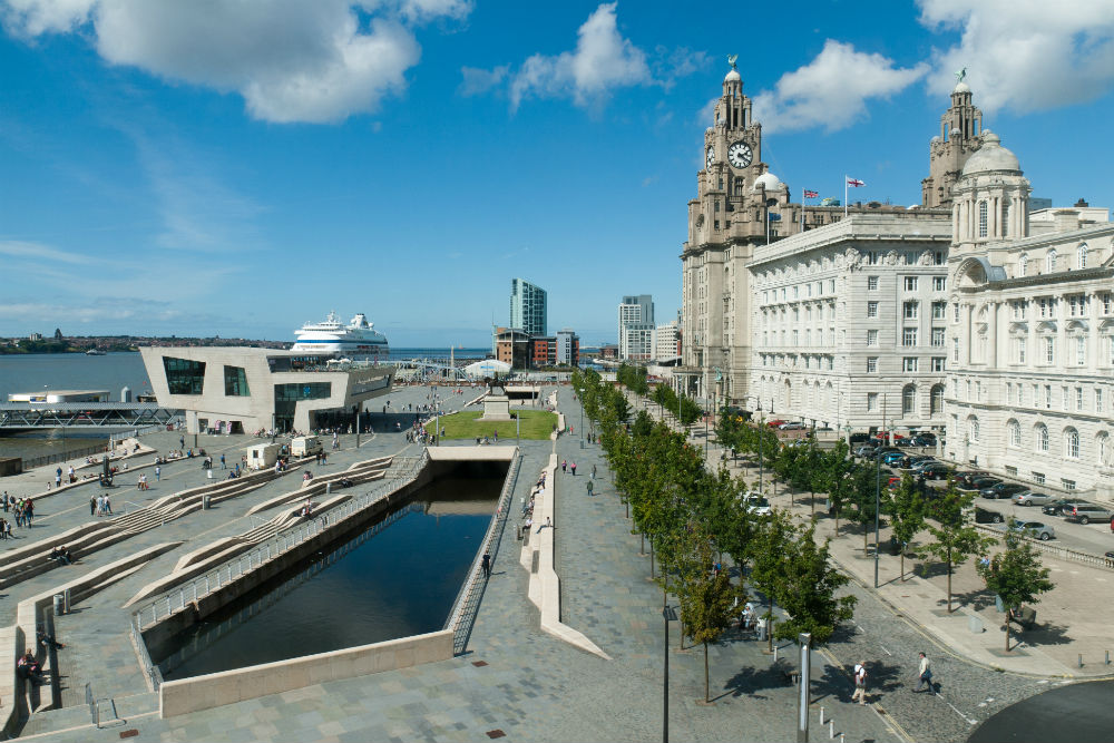 Pier Head with Three Graces