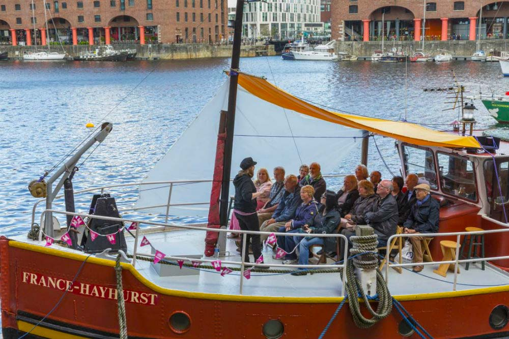 Heritage open day Albert Dock