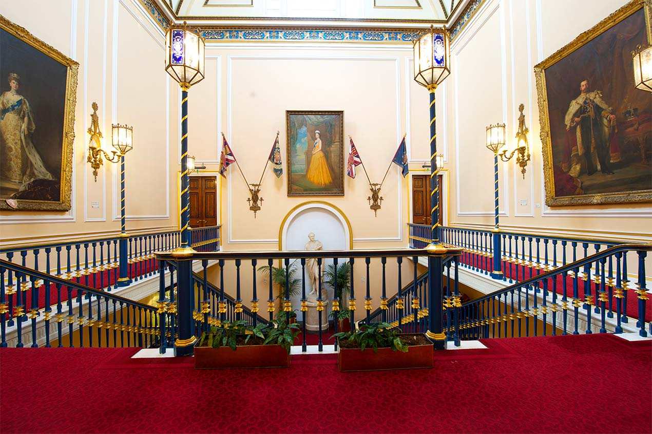 Town Hall staircase