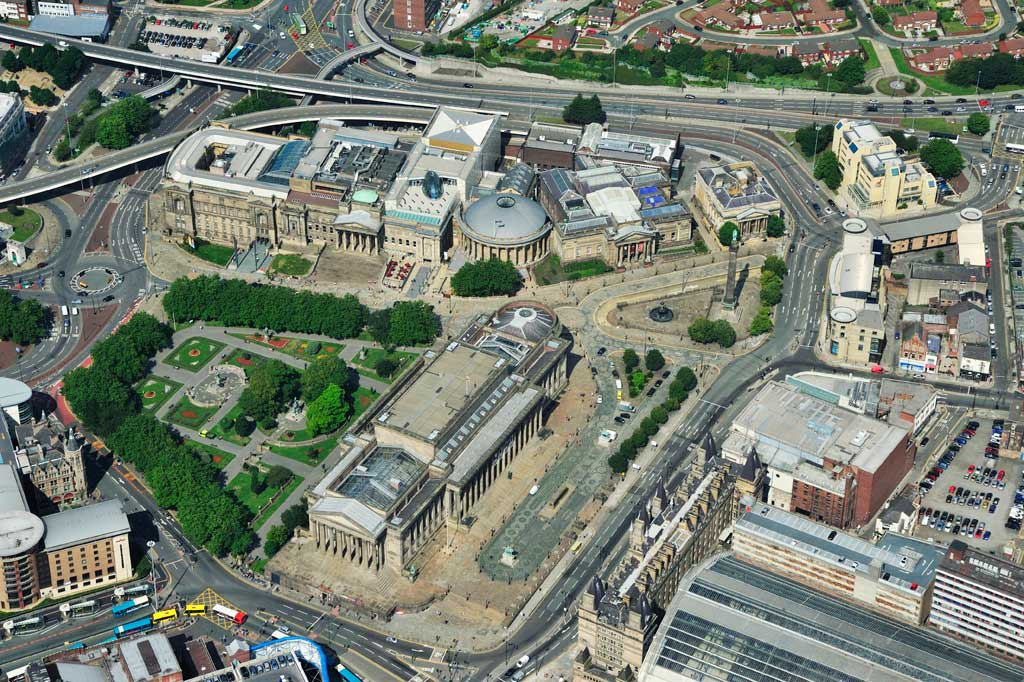 St Georges Hall Aerial